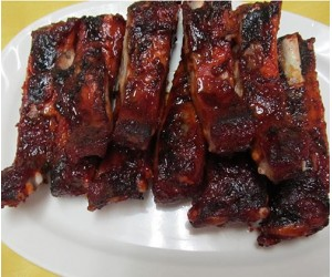 4. Barbecued Spare Ribs