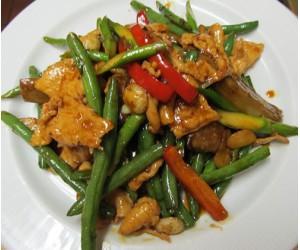 Chicken Eggplant Vegetables