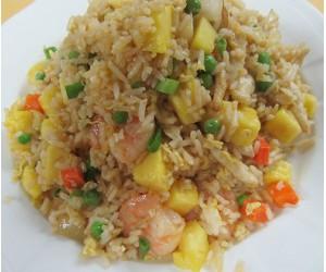 26a. Fresh Pineapple Fried Rice (Shrimp & Chicken)